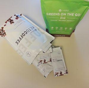 """Skinny Mocha"" Keto Coffee & Chocolate Super Green"
